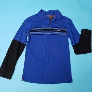 *Boys* TONY HAWK blue &black long sleeve shirt